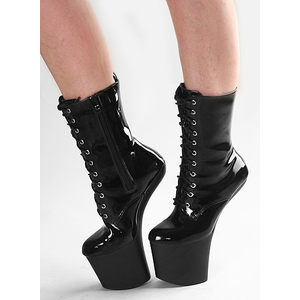Ankle Pony Boots black