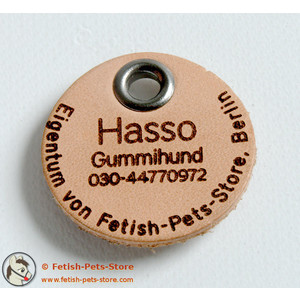Dog Tag Leather