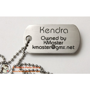 Dog Tag Stainless Steel