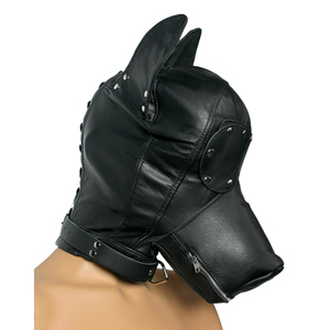Ultimate Leather Dog Mask