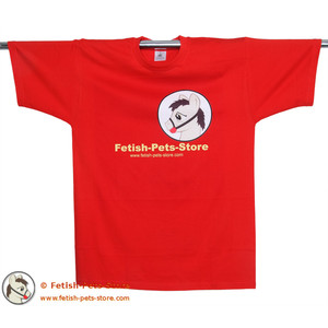 T-Shirt Petty Fetish-Pets-Store rot 2013