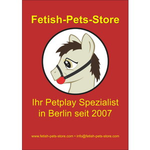 Poster DIN A2 Fetish-Pets-Store