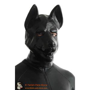 Latex Mask German Shepherd