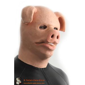 Schweinemaske Gummi