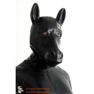 Latex Pony Mask