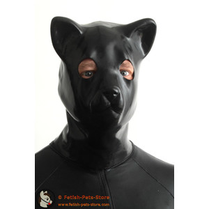 Latex Kitten Cat Mask