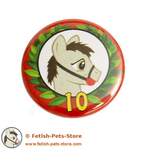 10 Years Anniversary Petty Button small