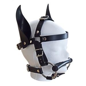 Pony-Trense mit Beissstange und Ohren