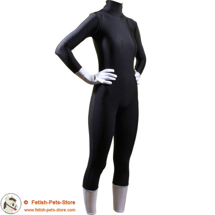 Catsuit with contrasting hands/feet