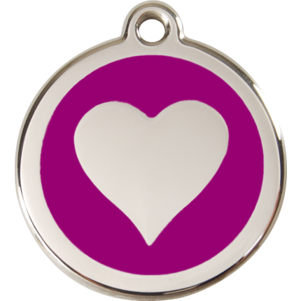 Dog Tag Heart