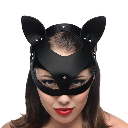 Cat Mask Leather