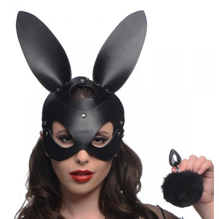 Bunny Hood and Anal Plug Set