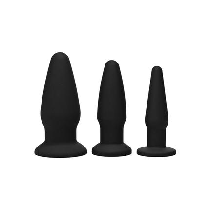 Trinity Silicone Butt Plug Kit