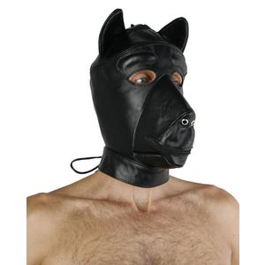 Leather Dog Mask