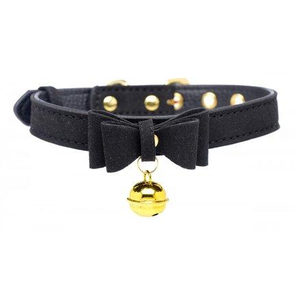 Golden Kitty Collar Black
