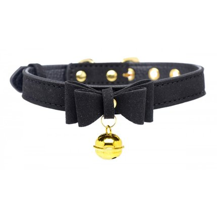 Golden Kitty Halsband schwarz