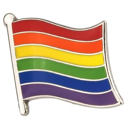Regenbogenflagge Pin