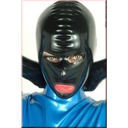 Latexmaske Augen/Nase/Mund