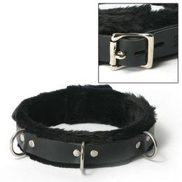 Narrow Fur Lined Collar