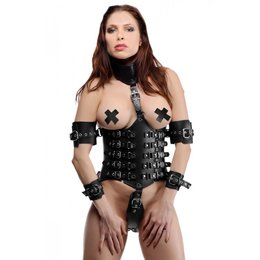 Wide Leather Harness