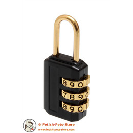 Combination Lock black