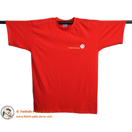 T-Shirt Petty Fetish-Pets-Store 2014 red