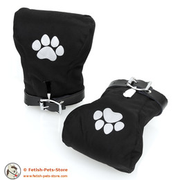 Puppy Mitts Canvas