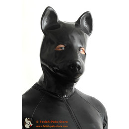 Latex Mask Dog