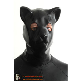 Latex Kitten Cat Mask