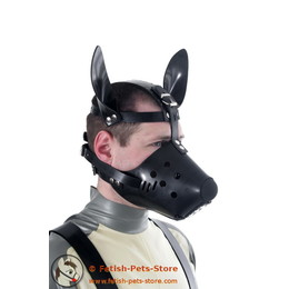 Dog Snout (Rubber) with Butterfly Gag - Single Item