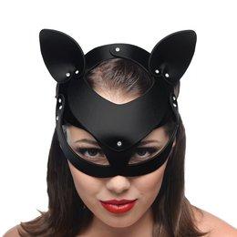 Katzenmaske Leder