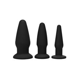 Trinity Buttplug-Kit aus Silikon
