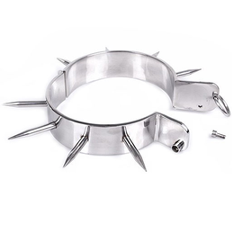 Metal Collar with Spikes