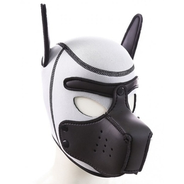 White Puppy Neoprene Muzzle